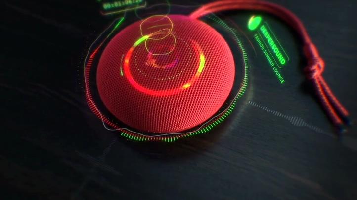 绚丽音频音乐频谱节奏变换合成摄影动态跟踪影视模板
