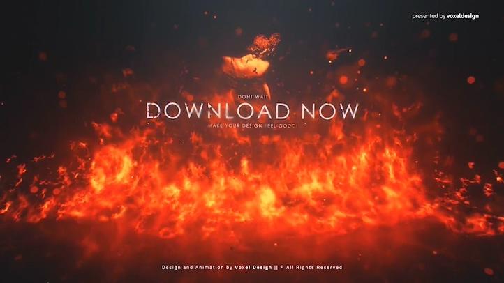 火焰,logo,火,重生,燃烧,真实火焰燃烧图像转场烈火重生标志影像片模板视频素材