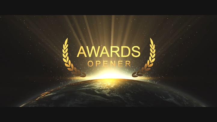 享誉全球2020年会颁奖盛典片头AE模板