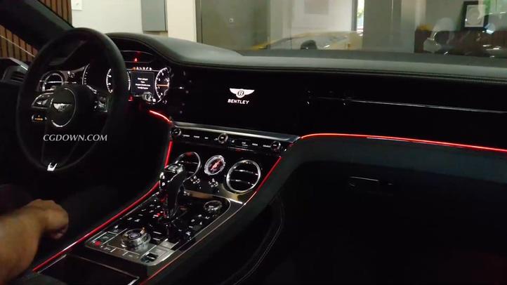汽车,奢华,宾利,跑车,2020款最新宾利飞驰continentalGT跑车实拍视频素材视频素材