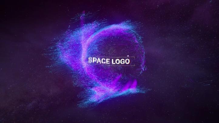 魔幻,粒子,飘舞,科技,动感魔幻粒子飘舞logo片头视频素材