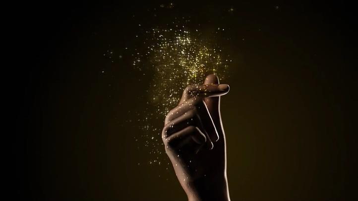 时尚,广告,片头,粒子,金色,打响指,璀璨,璀璨打响指金色粒子时尚广告片头,免费视频素材