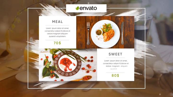 西餐,风格,片头,餐饮,美食,笔刷,烹饪,白色,白色笔刷烹饪美食餐饮西餐风格片头视频素材
