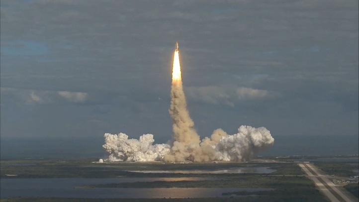 飞机,航天,航天飞机,美国,发射,火箭,升空,速度,最高清晰美国航天飞机发射升空视频视频素材