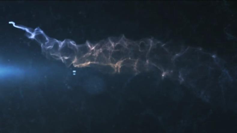 粒子,沙尘,梦幻,时尚,浪漫时尚梦幻粒子沙尘片头视频素材