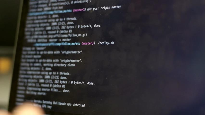 科技,数字,数码,编程,程序员,信息,科技时代信息化数字编程视频素材