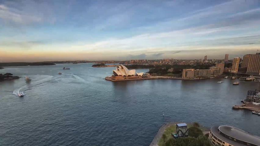 澳大利亚,延时,风景,城市,风景优美澳大利亚延时摄影高清视频素材视频素材