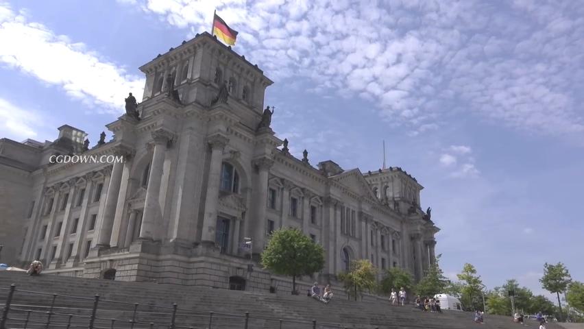 德国,德国古典建筑实拍视频素材视频素材