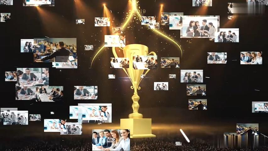粒子,绽放,璀璨,光线,颁奖,盛典,年会,大气光线绽放璀璨粒子颁奖年会片头视频素材