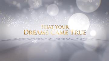 金字,新年,圣诞,标题,华丽,化妆,精致新年圣诞金字华丽白色片头视频素材
