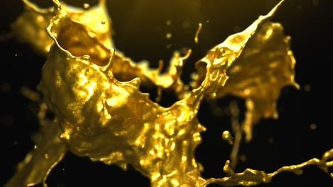 黄金,华丽,金色,银色,金属,液体,logo,华丽金色黄金金属液体铸就片头logo视频素材