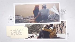 温馨浪漫爱情甜蜜相册视频素材影视模板