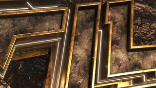 炫酷金属质感硬汉logo片头