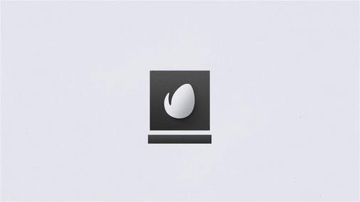 简洁科技清爽标志logo
