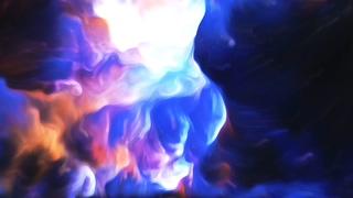 蓝色,朦胧,抽象,能量,油画朦胧抽象运动背景能量视频素材