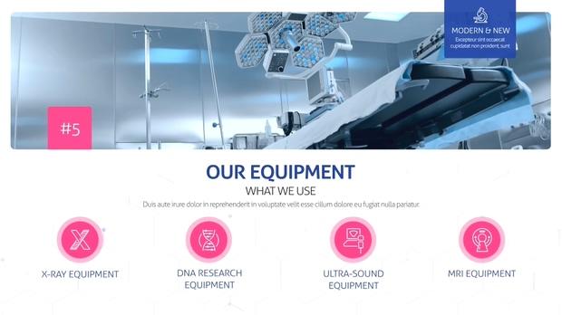 医院医疗方案演示视频模板
