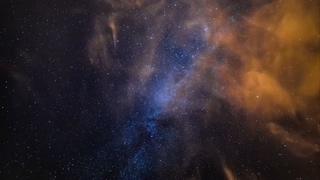 宇宙,银河,时光飞逝,望远镜拍摄时光飞逝宇宙银河视频素材