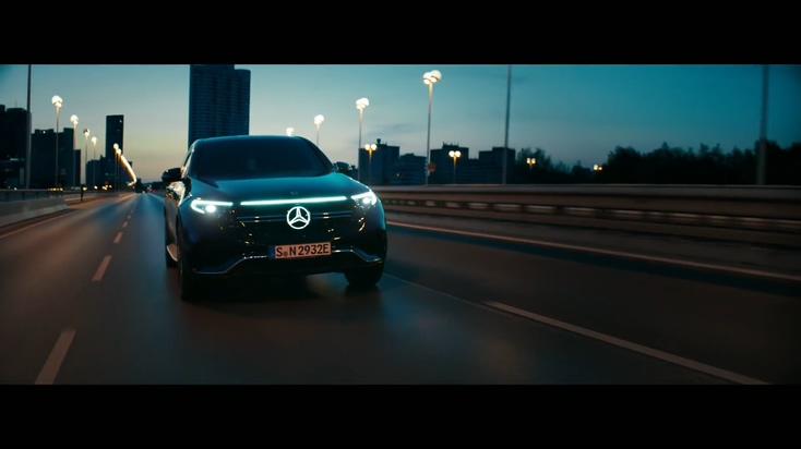 全新奔驰EQC电动车高清视频宣传片
