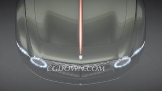 宾利100GT概念车创意广告|Bentley EXP 100 GT