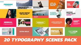时尚,20种时尚广告PR模板视频素材