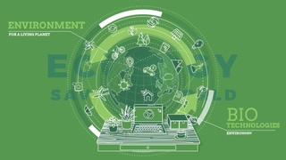 绿色生态健康地球公益片头
