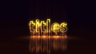多彩金色紫色粒子沙尘广告logo片头|LIGHT PARTICLES LOGO | TITLES