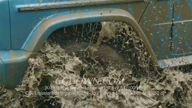 梅赛德斯奔驰G-Class性能测试视频