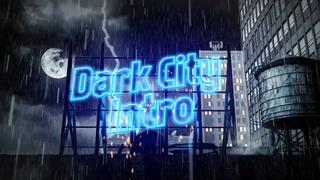 黑暗,雷电,下雨,城市,霓虹灯,广告,宣传,黑暗雷电下雨城市霓虹灯广告宣传视频素材