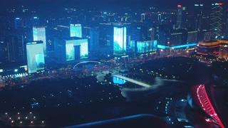 航拍,南京,江苏,航拍南京江苏大剧院新地标视频素材