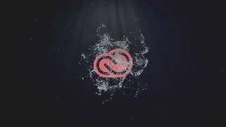 液体,水珠,logo,液体水珠迸发散射logo片头视频素材