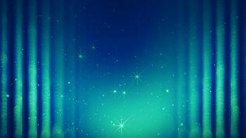 蓝色,绚丽,科技,闪烁星星,无缝循环五