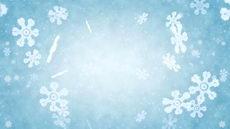 无缝循环廿二,漫天飞舞的雪花,冰花,冬天,冬季