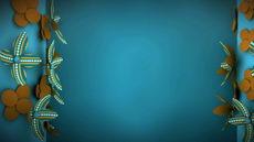 无缝循环廿二,装饰规划蓝色