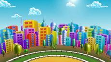 无缝循环廿二,流行音乐运动城市,动漫,城市,流行,卡通
