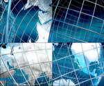金属地球框架