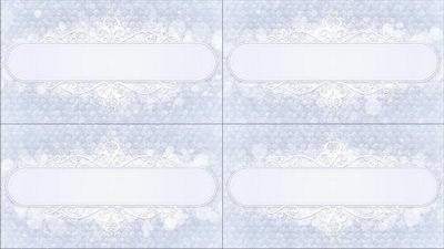 欧式,洁白,花纹,花边,无缝循环十一