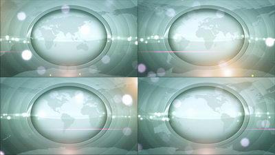 扫描,世界,光晕,地球,无缝循环十一