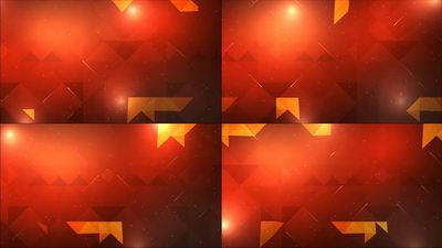 红色,变换的揭开三角形,三角形