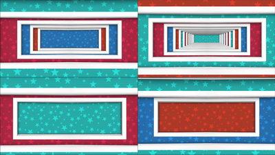 隧道,方块,矩形,四边形,穿越,无缝循环十一