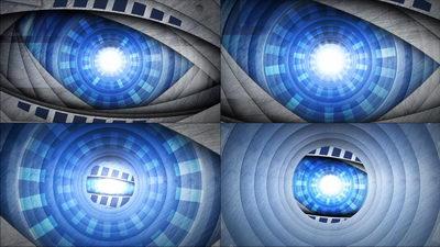 金属,眼球,能量,眼珠,变形金刚,无缝循环十一
