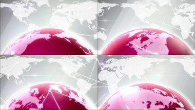 科技,地球,转动,地图,世界,网络,营销,无缝循环十一