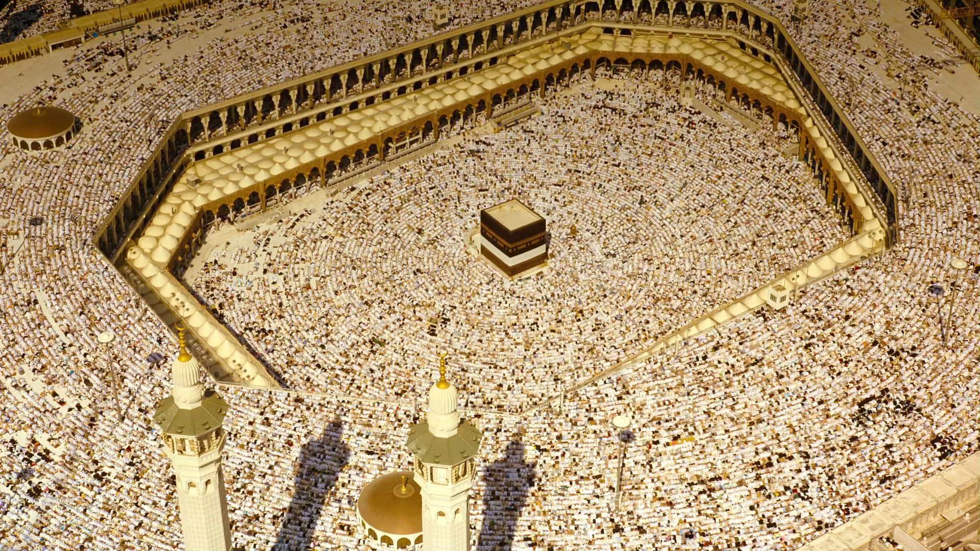 麦加大清真寺,朝拜,穆斯林,伊斯兰教,沙特阿拉伯