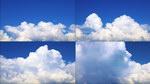 流动的云,蓝天,白云,云彩