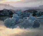 冰岛冰川,冰山,瓦特纳冰原,朗格冰原,霍夫斯冰原