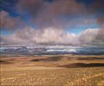 蓝天,白云,气候干燥,戈壁,蓝天,荒无人烟,没有生命迹象,云彩投影到大地上