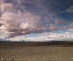 冰岛,气候干燥,戈壁,蓝天,白云,天空,荒无人烟,没有生命迹象