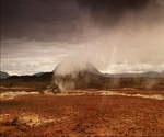 地热,景观,能源,冰岛,地热资源,视频素材