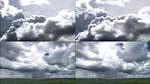 乌云,黑压压的乌云盖地,暴风雨的来临