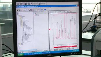 电脑检验,检测,仪表,分析数据,分子数据图,液晶