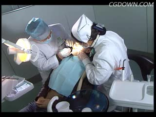 医院,医生,口腔检查,认真负责,实拍,万能素材
